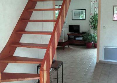 Aménagement intérieur d'un escalier 2