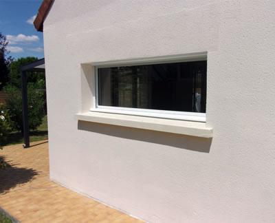 Eureka travaux Ouverture fenêtre