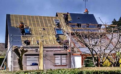 Eureka Travaux rénovation complète de toiture